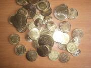 копии царских золотых монет по 100р.